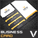 Simple Corporate Business Card (Updated) - GraphicRiver Item for Sale