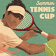 Tennis Match Flyer Poster - GraphicRiver Item for Sale