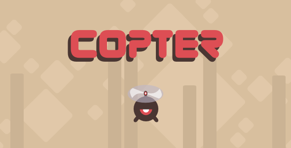 Copter - Html5 Mobile Game - android & ios - CodeCanyon Item for Sale