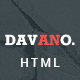 Davano - Multipurpose Corporate HTML Template - ThemeForest Item for Sale