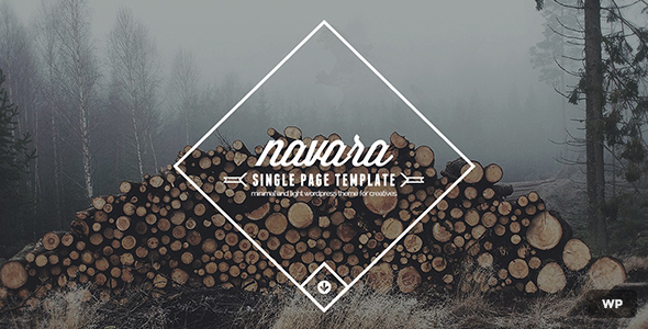 Navara - WordPress Single Page Theme