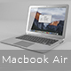 Macbook Air 13-inch - 3DOcean Item for Sale