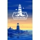 Colorful Lighthouse Symbol for Any Navigation - GraphicRiver Item for Sale