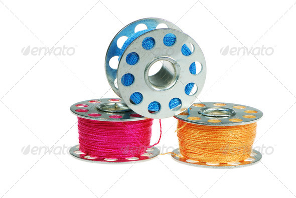 Sewing Threads - Stock Photo - Images