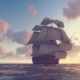Sailing Galleon - Sunset - VideoHive Item for Sale