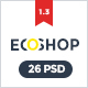ECOSHOP - Multipurpose eCommerce PSD Template - ThemeForest Item for Sale