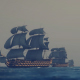 Sailing Galleons - Dark Weather - VideoHive Item for Sale