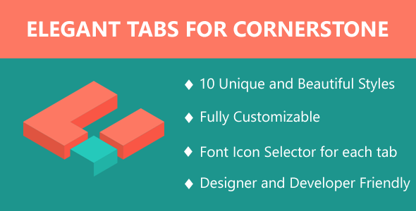 Elegant Tabs for Cornerstone - CodeCanyon Item for Sale