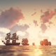 Sailing Galleons - Sunset - VideoHive Item for Sale