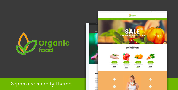 Organic Food – Responsive Shopify Theme