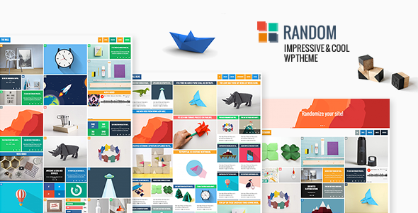 Random - Impressive & Cool WP Theme - Blog / Magazine WordPress