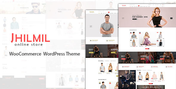 Jhilmil – WooCommerce WordPress Theme