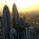 Aerial View Of Downtown Dubai - VideoHive Item for Sale
