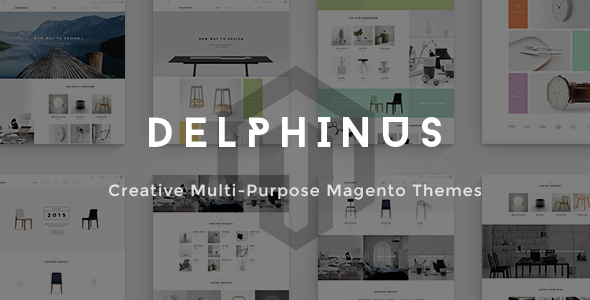 Delphinus – Creative Multi-Purpose Magento Theme