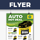 Auto Deal - Flyer Template - GraphicRiver Item for Sale