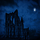 Old Abbey Ruins At Night - VideoHive Item for Sale