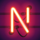 Glowing Neon Bar Alphabet - GraphicRiver Item for Sale