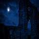 Arches Of Medieval Ruins At Night - VideoHive Item for Sale