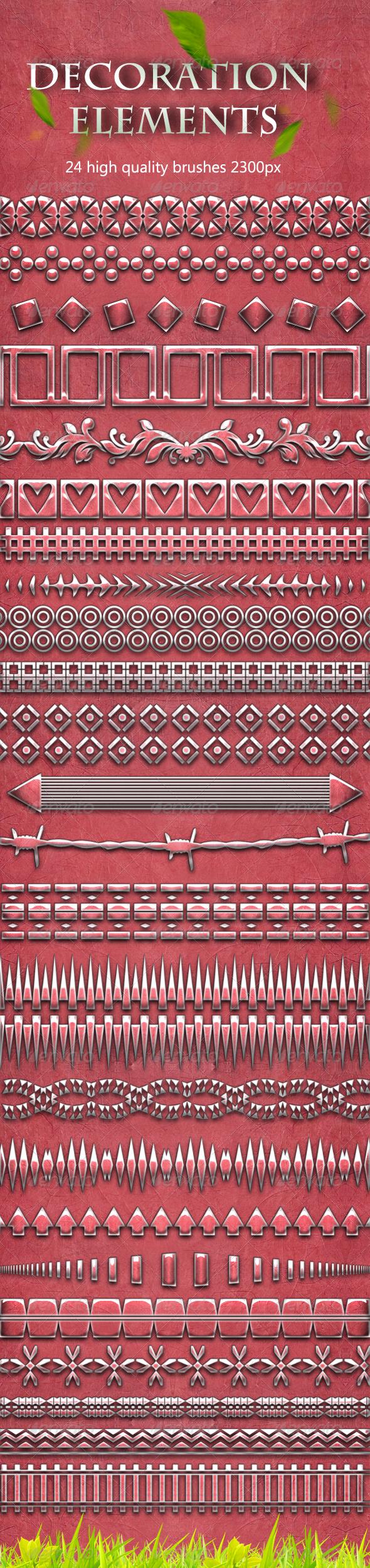 Decoration Elements Brushes - Miscellaneous Brushes