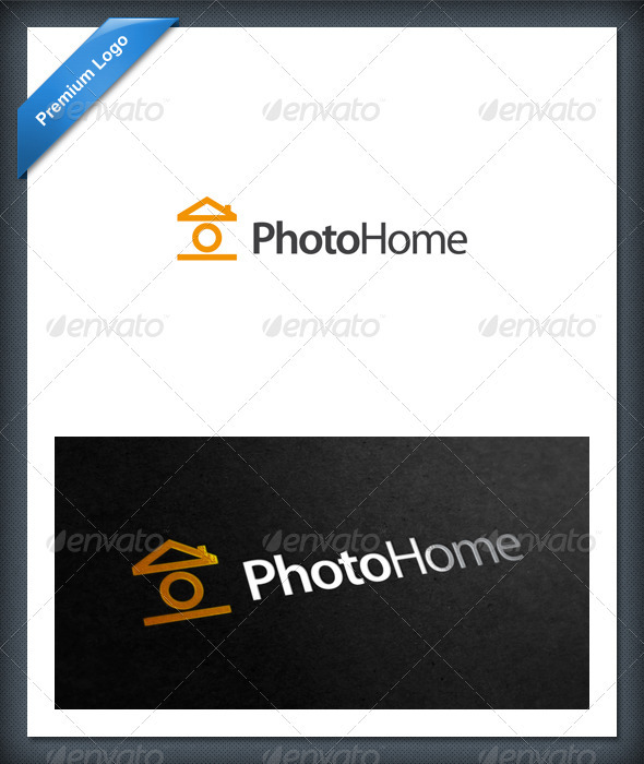 Photo Home Logo Template - Objects Logo Templates