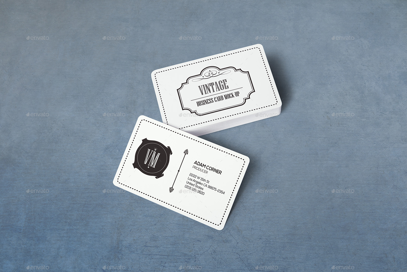 Rounded corners realistic vintage business card mockups by xepeec rounded corners realistic vintage business card mockups magicingreecefo Gallery