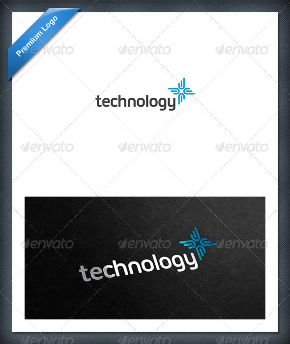Abstract Tech and Health Logo Template - Abstract Logo Templates