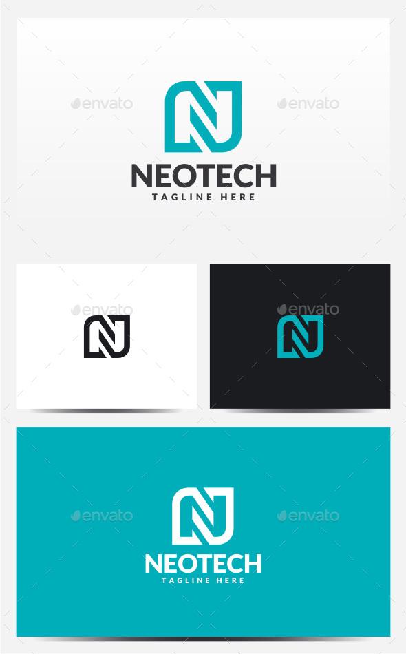 Neotech - Letter N Logo - Letters Logo Templates