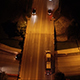Aerial View of Interstate Highway Overpass at Night - VideoHive Item for Sale
