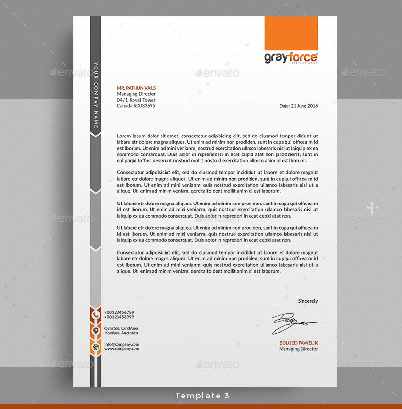Letterhead by themedevisers – Corporate Letterhead