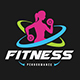 Fitness logo - GraphicRiver Item for Sale