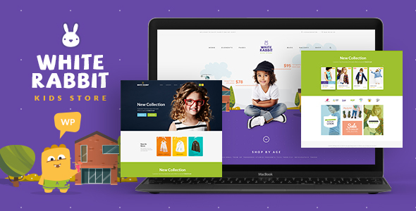 White Rabbit - Kids Toys & Clothing Store - WooCommerce eCommerce