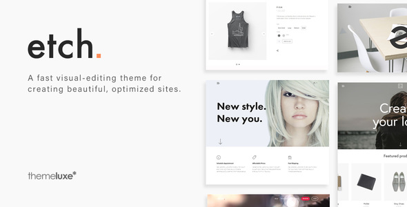 Etch - Clean Multi Purpose WordPress Theme