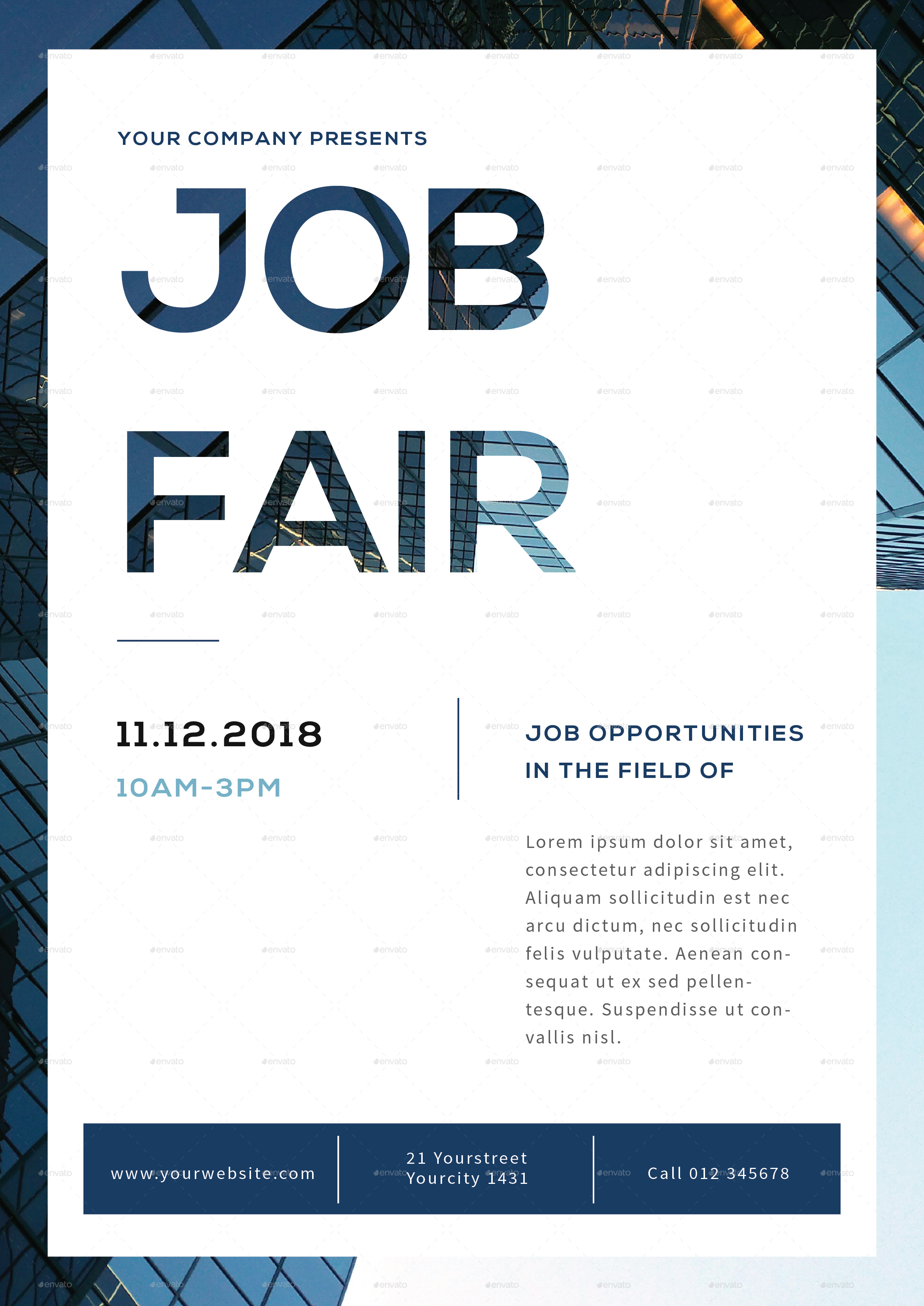Job Fair Flyer by infinite78910 | GraphicRiver