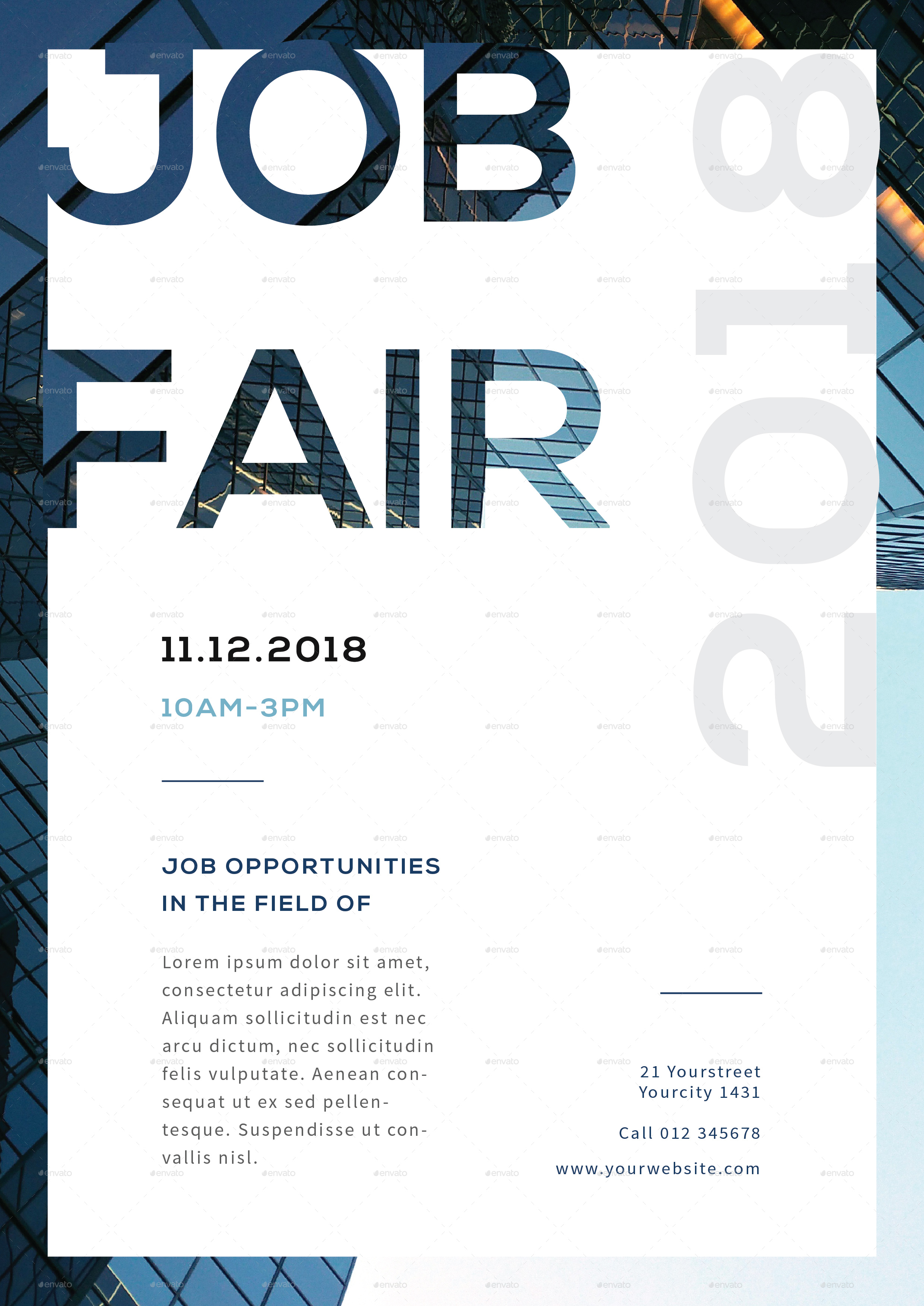 Job fair flyer by infinite78910 graphicriver job fair flyer vol01 01g pronofoot35fo Gallery