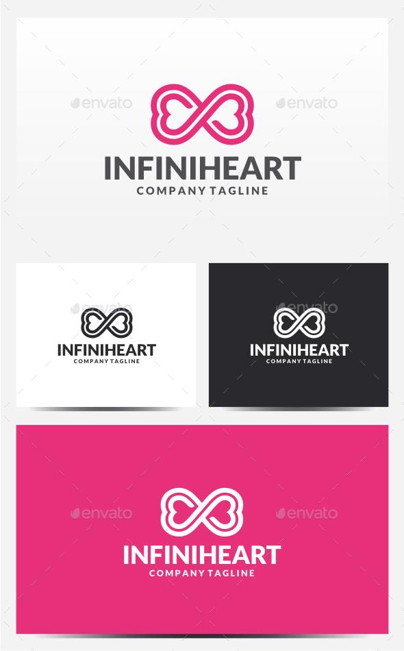 Infinity Heart Logo - Symbols Logo Templates