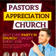 Pastor Appreciation Church Flyer - GraphicRiver Item for Sale