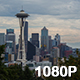 Seattle Skyline on Cloudy Day - VideoHive Item for Sale