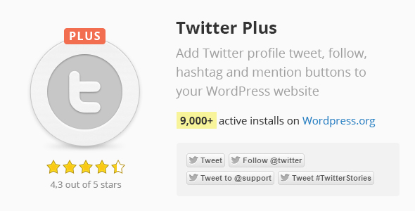 Twitter Plus - CodeCanyon Item for Sale