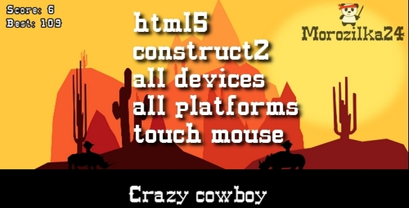 Crazy cowboy - CodeCanyon Item for Sale