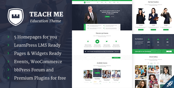 Teach Me – Education WordPress Theme