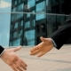 Two Business Partner Shake Hands - VideoHive Item for Sale
