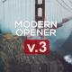 Modern Opener - Slideshow - VideoHive Item for Sale