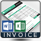 Invoice Excel - GraphicRiver Item for Sale