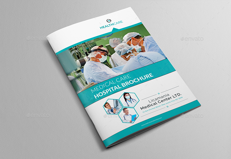 medical center    hospital brochure template by al