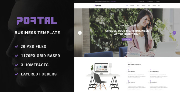 Portal - Business Template