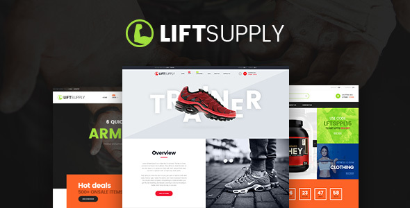 LiftSupply – Creative Single Product WooCommerce WordPress theme
