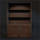 Bookcase - 3DOcean Item for Sale