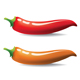 Vector chilli - hot pepper - GraphicRiver Item for Sale