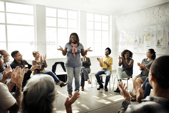 Business Team Seminar Corporate Strategy Concept - Stock Photo - Images