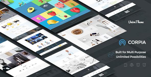 Corpia – Design Driven Theme
